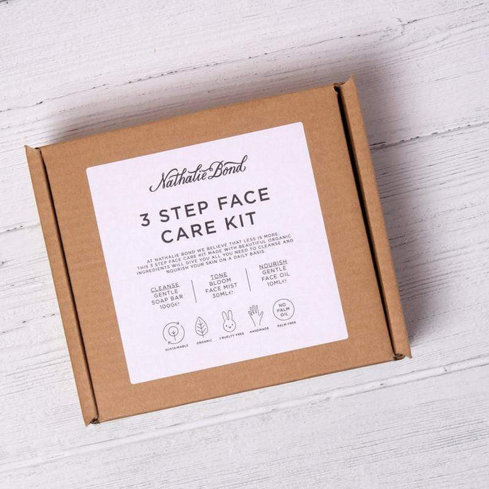 Nathalie bond 3 step face care kit - Cordelia's House of Treasures