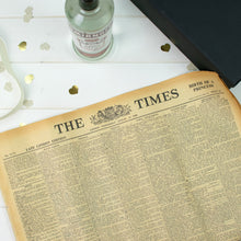 Black Smirnoff Vodka and Original Newspaper - Cordelia's House of Treasures