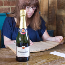 Tattinger Champagne and Original Newspaper - Cordelia's House of Treasures