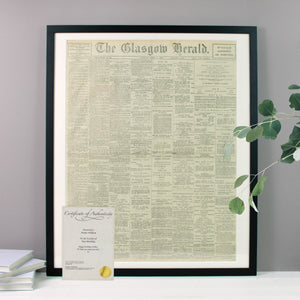 Original Newspaper - Cordelia's House of Treasures