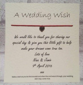 A wedding wish - Cordelia's House of Treasures