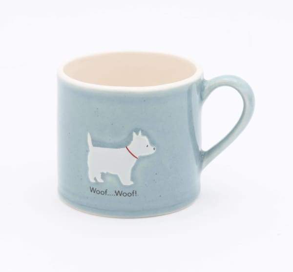 BAILEY & FRIENDS 150ml MUG WESTIE BLUE - Cordelia's House of Treasures