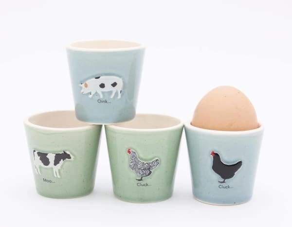 BAILEY & FRIENDS SET OF 4 EGG CUPS - Cordelia's House of Treasures