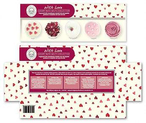 Bath Melts gift box Wild Olive - with love - group one