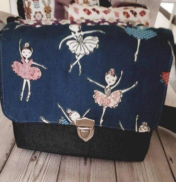 Beautiful ballerina bag. Handmade - Cordelia's House of Treasures