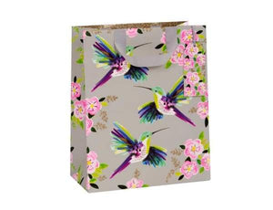 Beautiful Humming Bird Gift bag. Large - Cordelia's House of Treasures