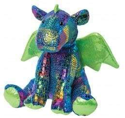 Beautiful Mosaic skin Dragon teddy bear - Cordelia's House of Treasures