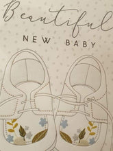 Beautiful new baby card - Cordelia's House of Treasures
