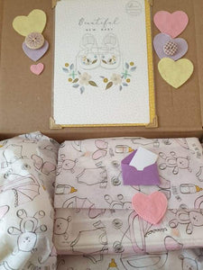Beautiful new baby girl gift box - Cordelia's House of Treasures