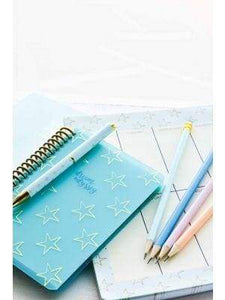 Beautiful stationery -  pastel pencils to match exquisite stationery - Cordelia's House of Treasures