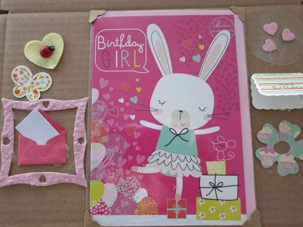 Birthday box for a little girl - Cordelia's House of Treasures