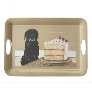 Black Labrador Melamine Tray - Cordelia's House of Treasures