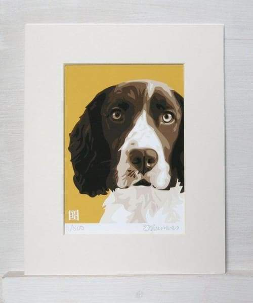 British artist Springer print - gift for him