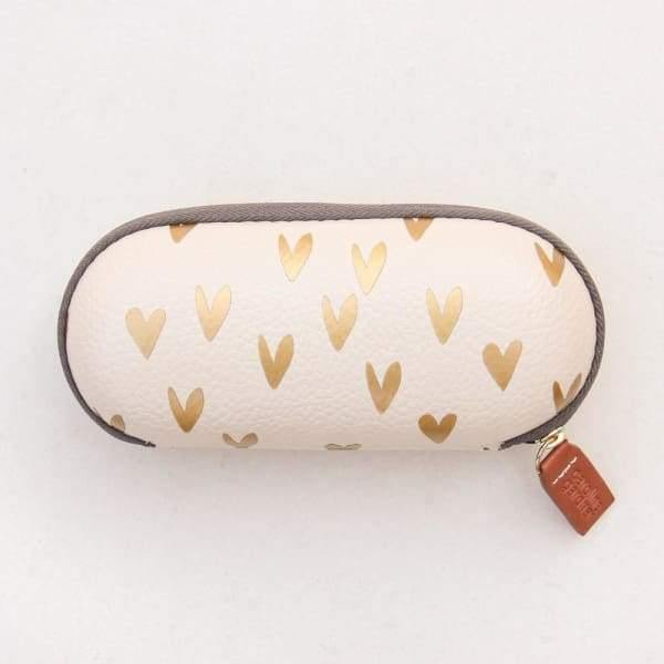 Caroline Gardner hearts glasses case - Cordelia's House of Treasures