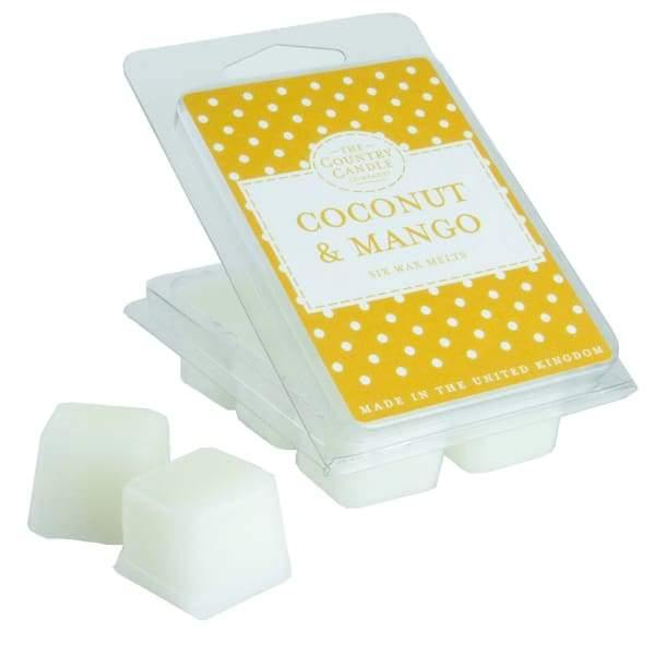 Coconut & Mango Wax Melt  POLKADOT - Cordelia's House of Treasures