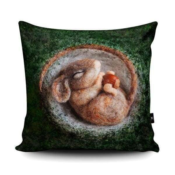 Cute mouse print cushion designed by The Lady Moth - home