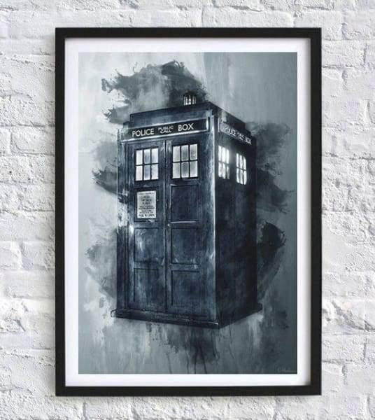 Dr Who A4 Print - Cordelia's House of Treasures