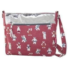 Foil effect and patterned bags. Lua - Bear - women
