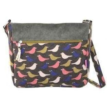 Foil effect and patterned bags. Lua - bird - women