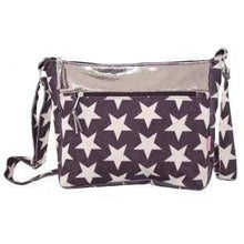 Foil effect and patterned bags. Lua - star - women
