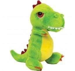 Green T Rex dinosaur teddy bear - Cordelia's House of Treasures