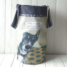 Greyhound Barrel Storage Bag Smile-The perfect Gift for her - home