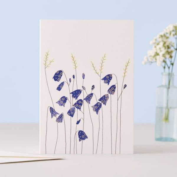 HAREBELLS CARD - stationery Eloise hall