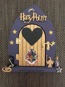Harry Potter Inspired Fairy Door - Hogwarts gifts for him - Artisan