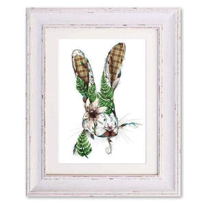 Harry the Hare Print by Kat Baxter - Home