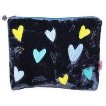 Heart design Lua coin purses - blue - women