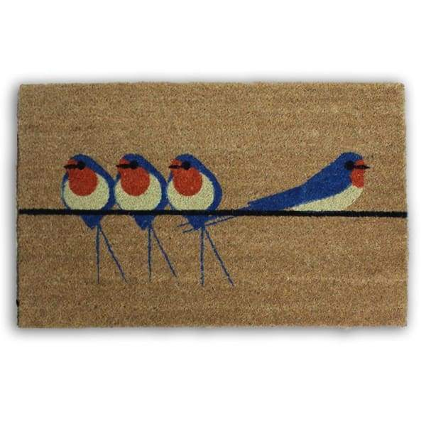 I like Birds, Swallow Door Mat - Cordelia's House of Treasures