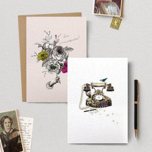 Stepanie Davies Greeting cards - Cordelia's House of Treasures