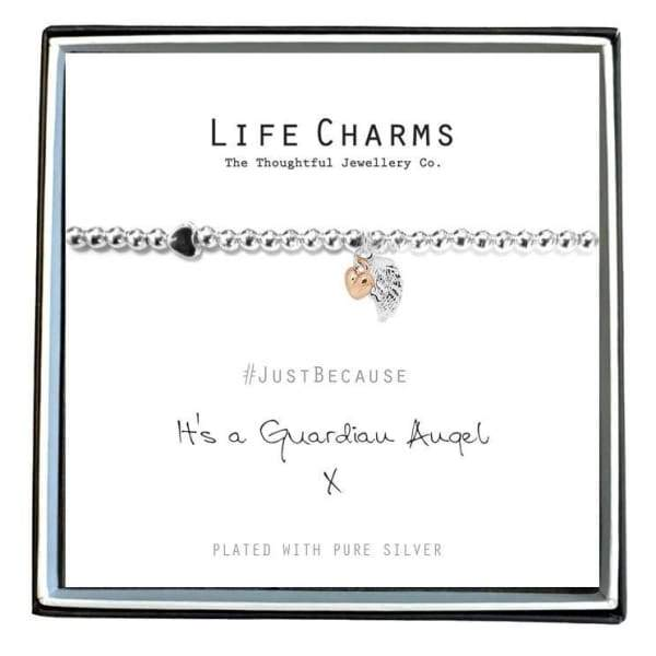 Its A Guardian Angel Charm Bracelet - Cordelia's House of Treasures