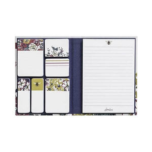 Hard Back Joules memo pad and sticker book