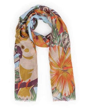 Jungle printed scarf by powder - summertime