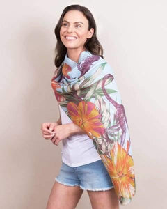 Jungle printed scarf by powder - Cordelia's House of Treasures