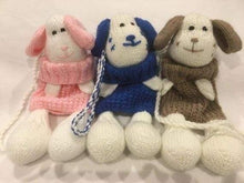 Knitted novelty childrens bags - Dog - Childrens accessories