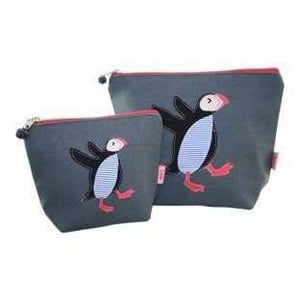 Large Dancing Puffin Cosmetic Purse - women group one