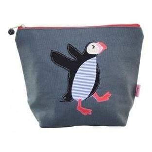 Large Dancing Puffin Cosmetic Purse - Cordelia's House of Treasures