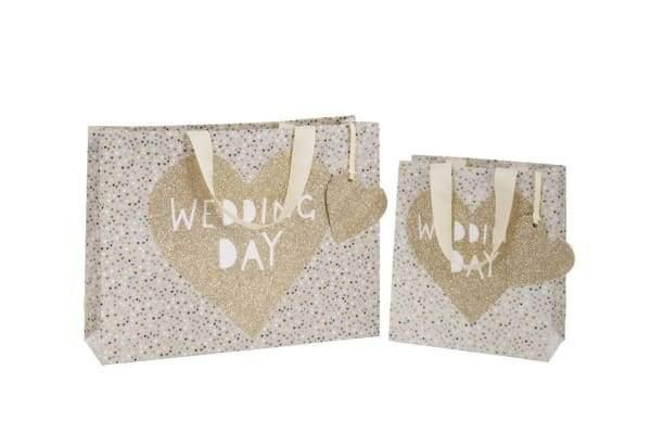 Large wedding heart Bag - Gift Wrapping