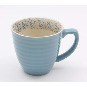 LIGHT BLUE 300ml MUG PAISLEY - Cordelia's House of Treasures