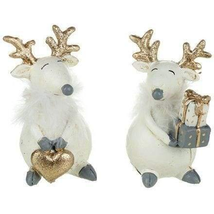 Little christmas reindeer ornaments - Cordelia's House of Treasures