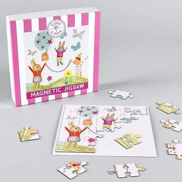 Magnetic Bunny Jigsaw Puzzle Educational Toys - children group one