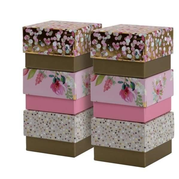 Mixed Nest of Boxes. Ideal for wedding Favours or just Gifts - Gift Wrapping
