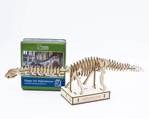 Natural History Museum Dippy the Diplodocus Dinosaur Model Kit - Cordelia's House of Treasures