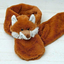 Novelty faux fur childrens scarves - Fox - Childrens accessories