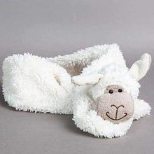 Novelty faux fur childrens scarves - Sheep - Childrens accessories