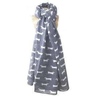 On Trend Lua Dachshund Womens Scarf - Cordelia's House of Treasures
