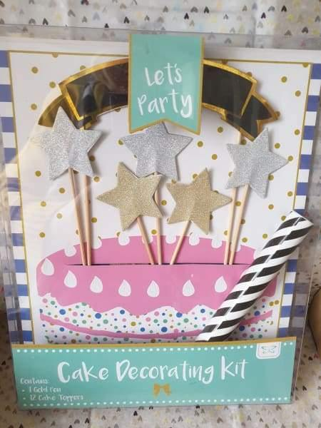 Pack of cake toppers - Cordelia's House of Treasures