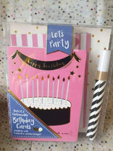 Pack of personalise your own cards - group four